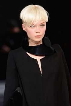 bowl cuts everywhere!  This one is kinda cool......Emporio Armani..