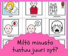 Tunnetaidot Speech Therapy, Mathematics, Behavior, Playing Cards, Mindfulness, Teaching, Activities, Education, Feelings