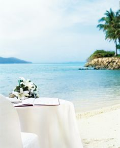 The picture perfect location for a wedding #beach #wedding #beautiful #paradise #island