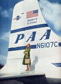 Pan Am Douglas DC-6B, Clipper Balboa.