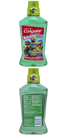 Childrens Oral Care: Colgate Kids Mouthwash Ninja Turtles Anticavity Fluoride 16.9 Ounce (Pack Of 6) -> BUY IT NOW ONLY: $43.37 on eBay!