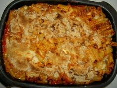 Anecdotes from Malta: Baked Macaroni - an authentic Maltese recipe