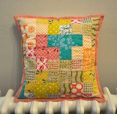 Beautiful patchwork cushion...