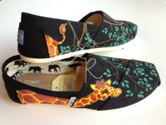 Hand painted TOMS for @Katie Rozinski