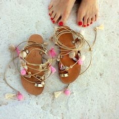 7d9b55d684f0e 102 Best Sandals images in 2017 | Leather Sandals, Handmade Leather ...