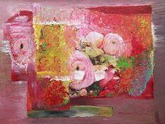 """Renate Horn, """"Flowers"""" (7)  Mit einem Klick auf """"Als Kunstkarte versenden"""" versenden Sie kostenlos dieses Werk Ihren Freunden und Bekannten."""