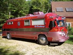 Flxible Clipper Bus Motorhome RV Camper Van