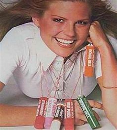 "Bonne Bell Lip Smackers, my first ""makeup.""  Loved the Dr. Pepper best!"