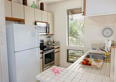 Grand Champions #1308162 | Maui Hawaii Vacations Fully Equipped Kitchen has new Stainless Steel Range and Microwave