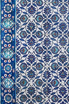 Iznik Tile Inside Rustempasha Mosque Art Print by Izzet Keribar Arabic Design, Turkish Tiles, Geometric Art, Mosque, Fine Art America, Photographers, Design Inspiration, Pottery, Tapestry