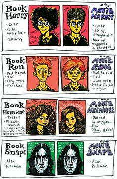 Harry Potter: Differences From Books To Movies