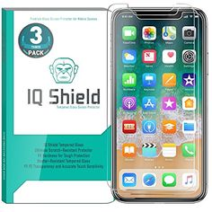 iPhone X Screen Protector (3-Pack), IQ Shield Tempered Ballistic Glass Screen Protector for iPhone X/iPhone 10 2017 [Case Friendly] [Easy Install] [3D Touch] [Ultra Clear] [Shatter Proof]  https://topcellulardeals.com/product/iphone-x-screen-protector-3-pack-iq-shield-tempered-ballistic-glass-screen-protector-for-iphone-x-iphone-10-2017-case-friendly-easy-install-3d-touch-ultra-clear-shatter-proof/  The iPhone X Screen Protector is backed by the IQ Shield Lifetime Replacement