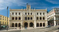 Rossio Train Station, Lisbon, Portugal    Designed between 1886 and 1887 by Portuguese architect José Luís Monteiro & opened in 1890 Rossio station was built in one the most important squares of Lisbon, the Rossio, and connected the city to the region of Sintra.