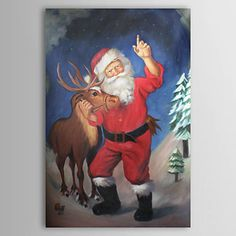 free images of santa to paint Modern Oil Painting, Tole Painting, Modern Paintings, Oil Paintings, Painting People, Online Painting, Free Images, Moose Art, My Arts