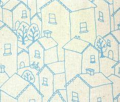 little house fabric