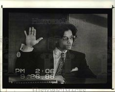 Prince gives a deposition in 1988 in court case regarding a photographer.