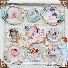 This would be presh for a diy baby book !