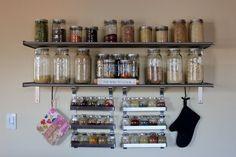 good idea for grain/spice storage