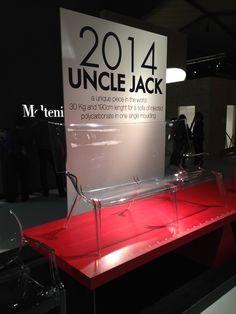 Kartell UNCLE JACK @ Biennale Interieur