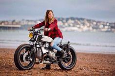 cool girls have fun on bikes!