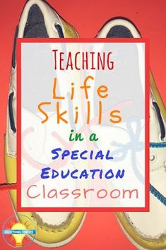 Teaching Life Skills in the Special Education Classroom - Conversations from the. Teaching Life Skills in the Special Education Classroom . Life Skills Lessons, Life Skills Activities, Life Skills Classroom, Teaching Life Skills, Teaching Special Education, Education Jobs, Classroom Ideas, Classroom Tools, Classroom Behavior