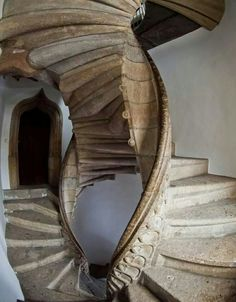Since we are doing stairs now, I raise you the historic double spiral staircase from my hometown Graz, Austria - house and flat decorations Beautiful Architecture, Art And Architecture, Architecture Details, Grand Staircase, Staircase Design, Staircase Ideas, Double Staircase, Escalier Art, Beautiful Stairs