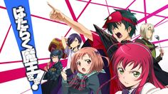 another great anime i've seen really funny I love Devil is a Part Timer!!! :D