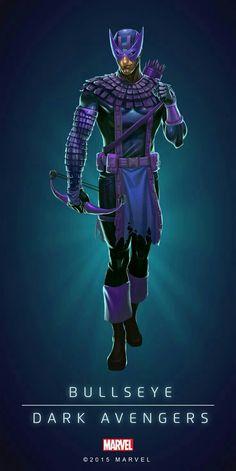 Bullseye Dark Avengers