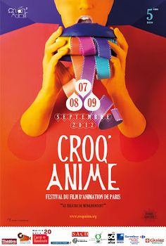 Film Festival Posters: CROQ'ANIME: Paris Animation Film Festival 2012