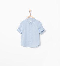 Camisa arromangable-Camises-Bebè nen (3 mesos–4 anys)-NENS | ZARA Espanya