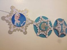Frozen banner by Fancymycupcake on Etsy, $25.00