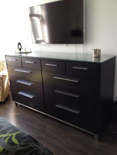 This dresser was designed and built by our OWN team at The Bedroom Gallery In Chilliwack BC. Using old world, handcrafted technique and solid maple wood with stainless steel It turned out to be STUNNING. If you want one of a kind bedroom furniture that is made to last. Come see us At The Bedroom Gallery