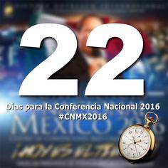Ya es fin de semana y la Conferencia Nacional esta a la puerta! Registrate en www.alcancevictoriamexico.org #CNMX2016