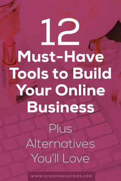 **Click through to read now** Save massive amounts of time by learning what tools to use to run your online business. Including the exact one we use for email marketing, project management, proposals, our website and more.