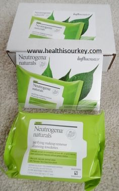 How to keep your face clean with Neutrogena Naturals Purifying Makeup Remover Cleansing Wipes