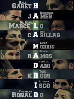 HALA MADRID♡