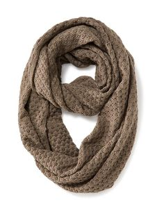 Open-Weave Infinity Scarf Product Image