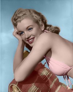 marilyn monroe norma jeane aka marilyn monroe colorized by me... Feel free, to add this photo....