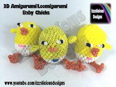 Rainbow Loom Amigurumi Mouse : Rainbow Loom - Amigurumi/Loomigurumi - Crochet Hook Only ...
