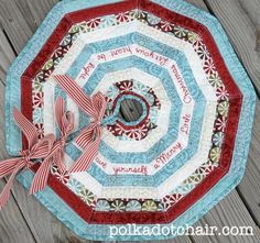 10 Terrific Tree Skirts that are Easy to Make!