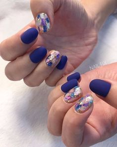 • Nail Design 영롱한 빛을 내뿜는 자개네일 디자인모음 자개네일 : 네이버 블로그 Colorful Nail Designs, Gel Nail Designs, Hot Nails, Hair And Nails, Asian Nails, Short Nail Manicure, Long Nail Art, Uñas Fashion, Gelish Nails