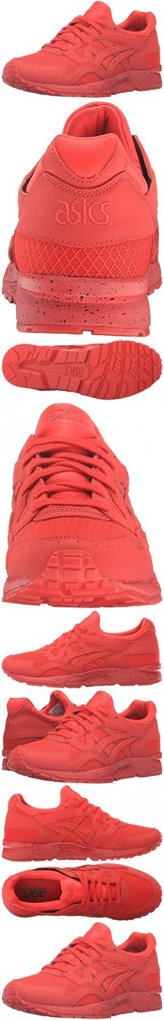 ASICS Men's Gel-Lyte V Fashion Sneaker, Red/Red, 10 M US