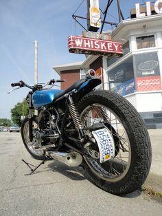 1972 YamahaR5 - Pipeburn - Purveyors of Classic Motorcycles, Cafe Racers & Custom motorbikes