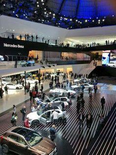 Frankfurt Mercedes Benz showroom