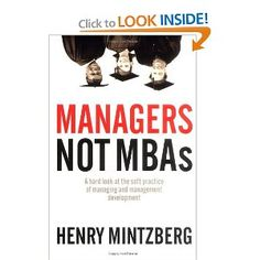 Mintzberg...would like to read in the future