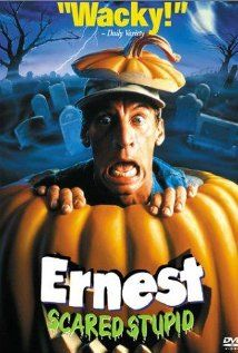 "Ernest Scared Stupid   Mom wouldn't allow to say the full name of this movie because we weren't allow to say the word ""stupid"" haha #Childhood"