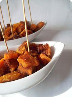 Italian food - Zucca fritta