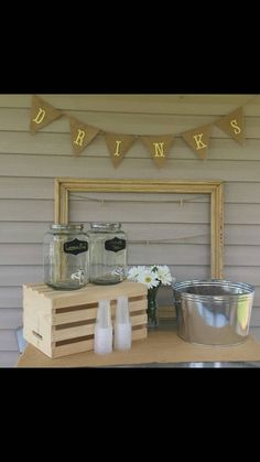 Check out this item in my Etsy shop https://www.etsy.com/listing/242364553/happy-birthday-burlap-banner-drinks