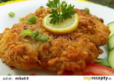 Meat Recipes, Chicken Recipes, Cooking Recipes, Czech Recipes, Tasty, Yummy Food, Food 52, Food To Make, Lunches