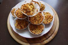 Apple Muffins made with Chickpea Flour